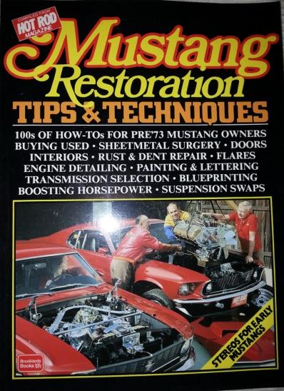 1966 mustang restoration book
