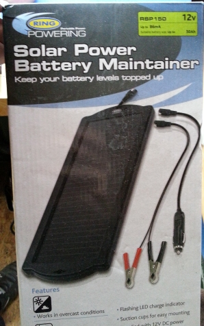 Ring Solar Charger Box RSP150