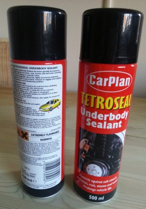 Carplan Tetroseal twin pack