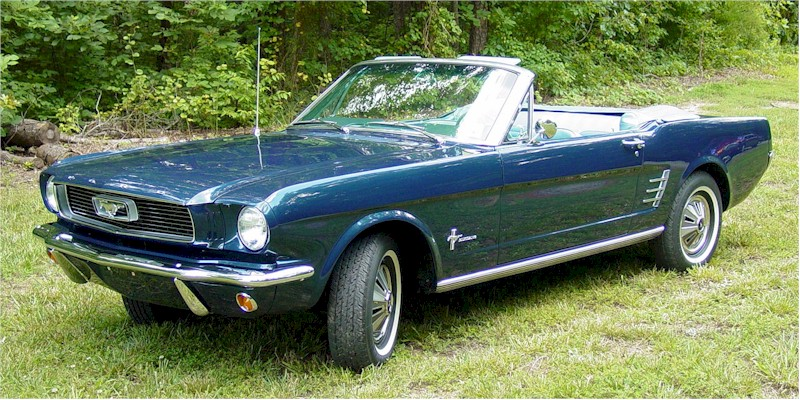 1966 Ford Mustang Model Year Profile One Man And His Mustang