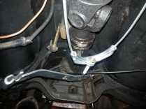 hand brake adjustment linkage