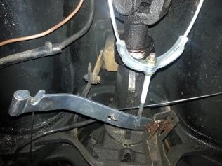 hand brake linkage
