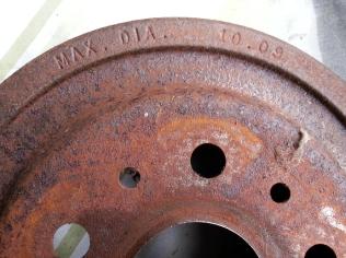 detail of drum