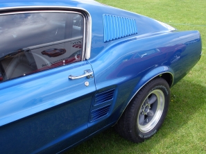 Mustang '67 GT 390 side vents