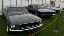 The '68 Bullitt & Dodge charger