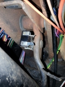 connections and brake switch in place