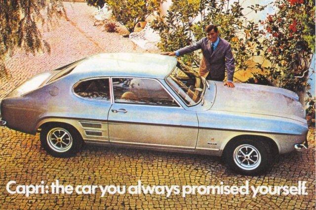 Capri MK1 Advert