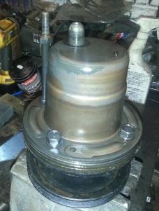 Original pump inside