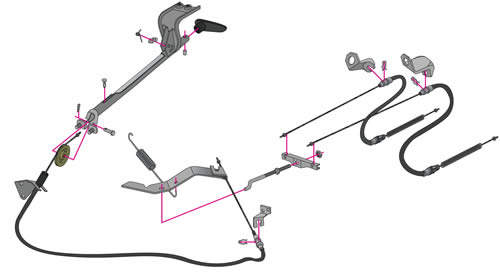 1968 Ford Mustang Brake System Diagram. Ford. Wiring