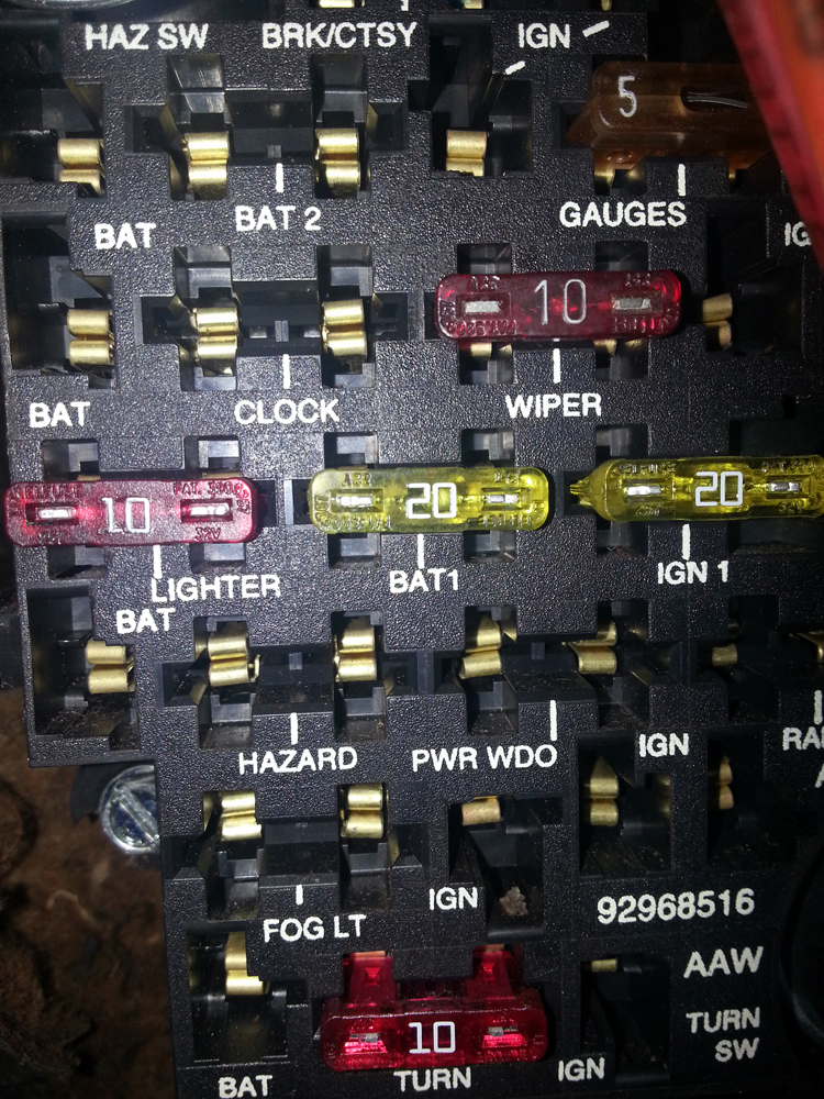 fuse?w=239&h=318 new port engineering 2 speed wiper motor one man and his mustang fuse box 66 mustang at bayanpartner.co
