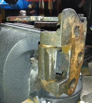 assembling the hinge