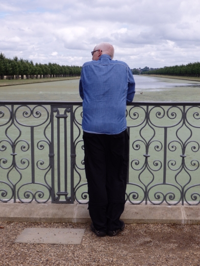 me and the view of a Hampton Court