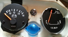 Voltmeter first coat