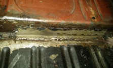exposed welding left side