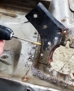 weakening the spot welds