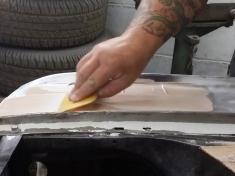 applying the filler