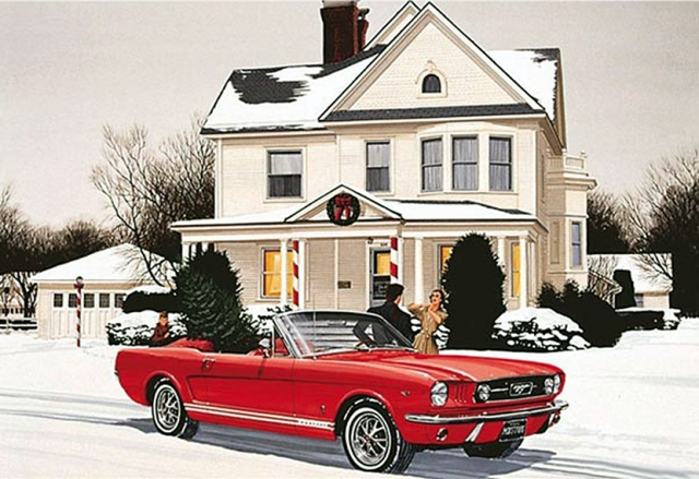 Merry Christmas One Man And His Mustang