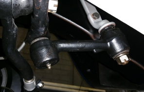 idle arm link in place
