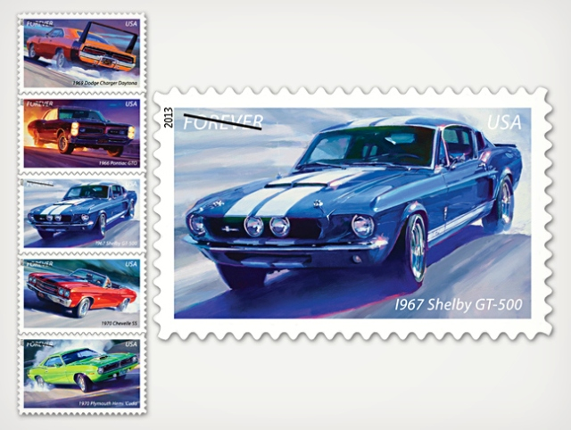 Muscle-Car-Stamps