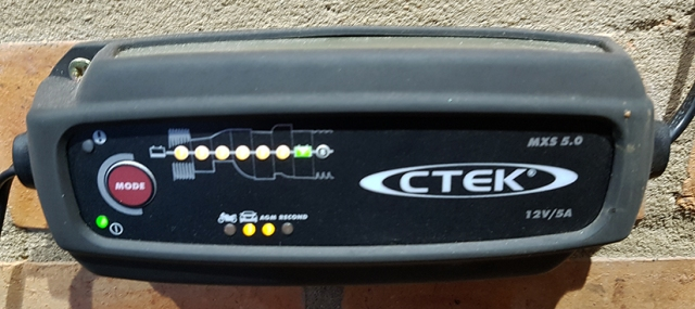 CTEK MXS 5 0 Battery Charger | One Man And His Mustang