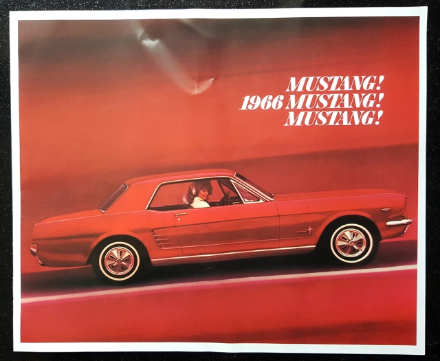 1966 Mustang Sales Brochure | One Man And His Mustang