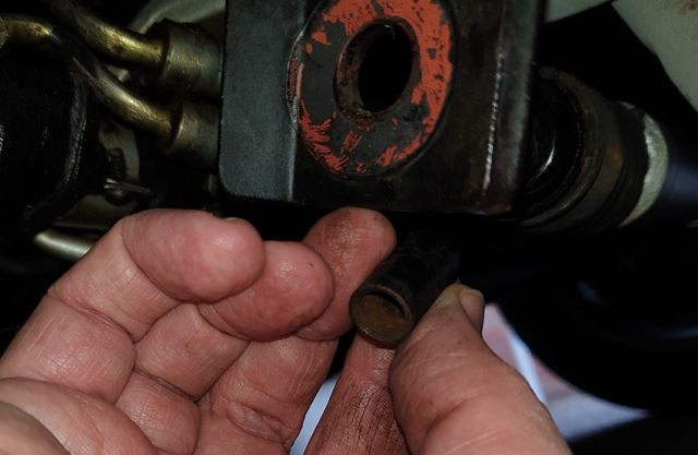 Power Steering Rubber Boot Replacement   One Man And His Mustang